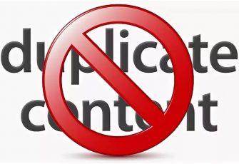 Проблема дублированного контента в интернете